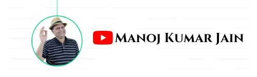 Manoj Kumar Jain - Youtube Channel to Learn Indian Stock Market