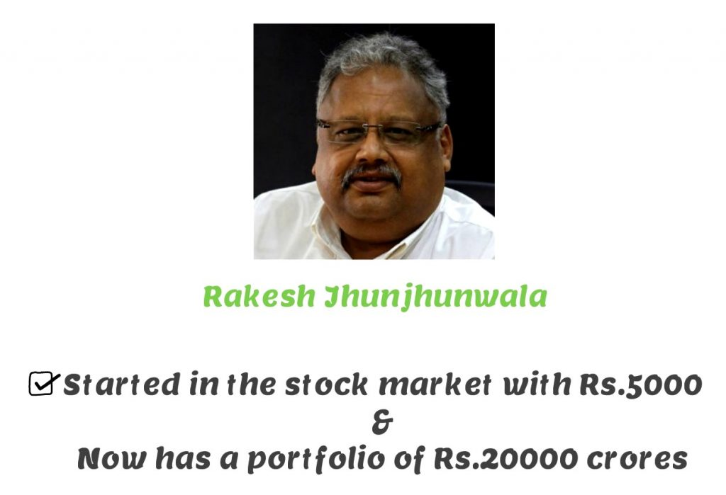 Rakesh jhunjhunwala - Stock Market for beginners