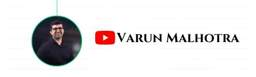 Varun Malhotra - Youtube Channel to Learn Indian Stock Market