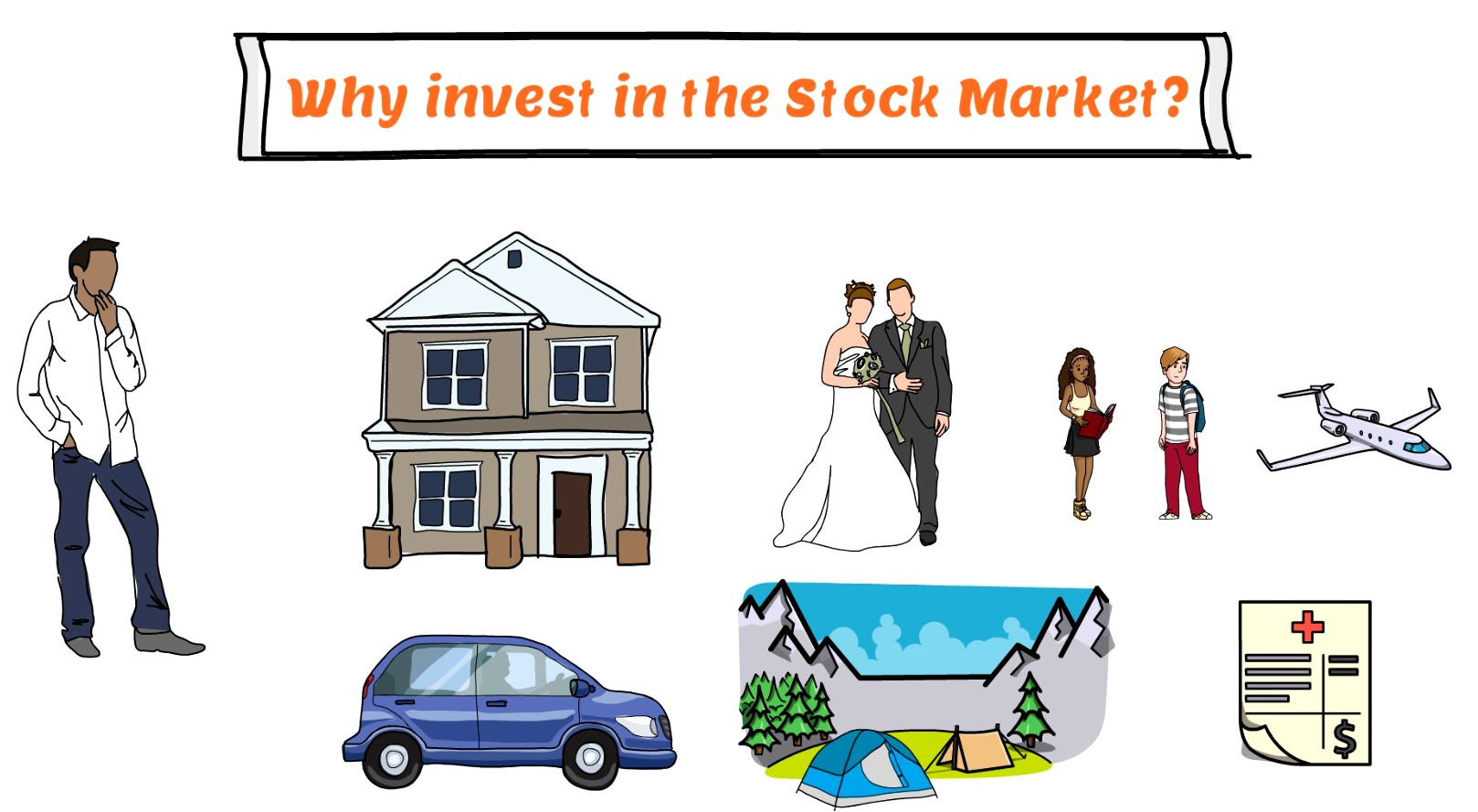 Why invest in the stock market - stock market for beginners