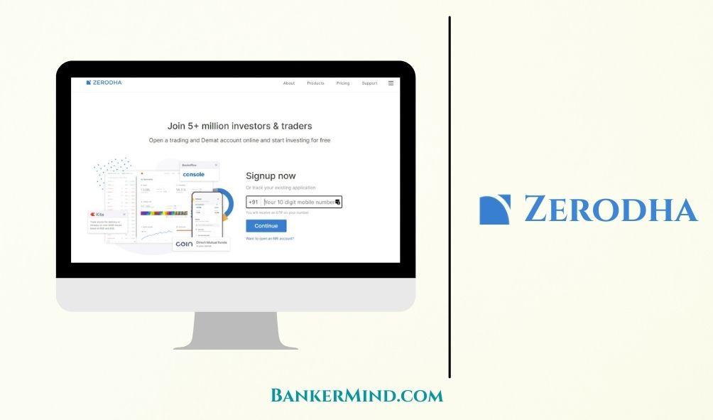 Best Brokerage Firm In India - 1. Zerodha